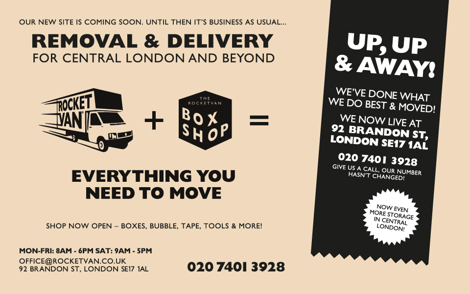 Rocket Van - Everything you need to move